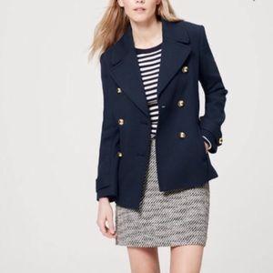 LOFT Admiral Peacoat Style Blazer